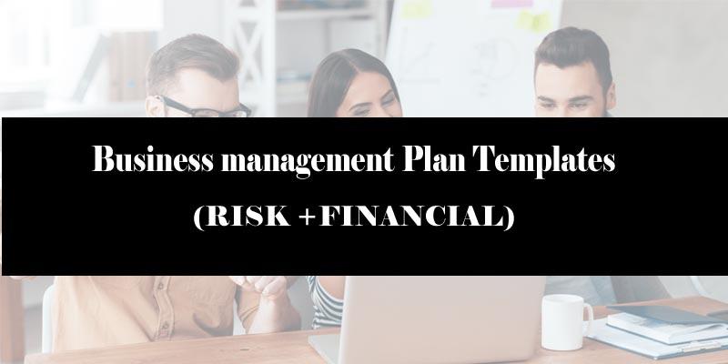 Business management plan template